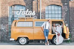 Der Fotobulli Photobooth im VW-Bus aus Köln